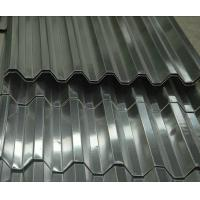 Wholesale JIS , BS  Corrugated Galvanized Steel Roofing Sheets Brushed Zinc Coated from china suppliers