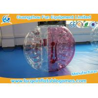 Wholesale Durable 1.2m TPU inflatable bumper ball for adults , Inflatable Human Bubble For Kids from china suppliers