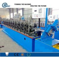Wholesale Garage Steel Roller Forming Machine , High Capacity Door Frame Making Machine from china suppliers