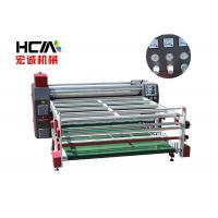 Wholesale 1.9 m Roller sublimation heat press transfer machine , printing speed 100-200 m / h from china suppliers