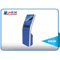 Wholesale 17 inch automatic free standing touch queuing  self service kiosk from china suppliers