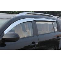 Wholesale All Chrome Sun Visors Vent Shade / Rain Window Guards for KIA SPORTAGE R 2010 2011 2012 2013 2014 from china suppliers