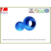 Wholesale Aluminium CNC turning parts with blue anodization from china suppliers