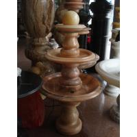 Quality white marble floating ball fountain for sale
