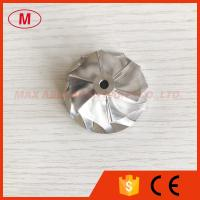 Quality TD025 9T-SB 33.83/44.01mm 6+6 blades turbo billet/milling/aluminum 2618 compressor wheel for 49173-02401 for sale