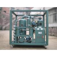 Wholesale Double-Stage Vacuum Transformer Oil Purifier from china suppliers