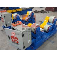 Quality Standard 10T Pressure Vessel Vessel Turning Rolls / Pipe Rotators For Welding for sale