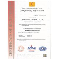 Hebei Lantu Auto Parts Co., Ltd. Certifications