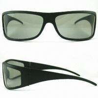 Wholesale Polarized 3-D Glasses for Promotional Purposes, Various Frame Colors are Available from china suppliers