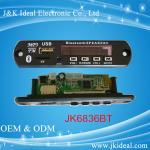 Wholesale JK6836BT usb tf card fm bluetooth module mp3 decoder board from china suppliers