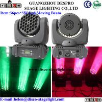 Wholesale 36pcs 3W Led Moving Head Wash / Beam DJ Nightclubs Light RGBW from china suppliers