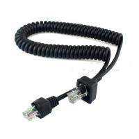 Wholesale Coiled 8P8C extension cable For Motorola ICOM from china suppliers