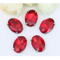 Wholesale Fancy Crystal sew on Stone With Claw Setting Rhinestone siam from china suppliers