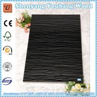 Wholesale high gloss wood grain uv mdf board for kitchen cabinets from china suppliers