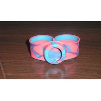Wholesale 100% eco-friendly and Colorful One inch silicone Wristbands, Strength Custom Rubber Bracelets from china suppliers