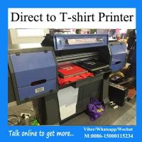 Wholesale 4 Plates Direct To Garment Printing Machine For Cotton Workout Apparel from china suppliers