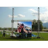 Wholesale P10 1R1G1B IP65 VGA Iron Full Color Electronic Outdoor Led Video Wall Rental from china suppliers
