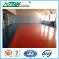 Wholesale Waterproof Silicone PU Sport flooring Material for Indoor Badmintion Court from china suppliers