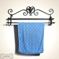 Wholesale custom iron towel rack wall hanging from china suppliers