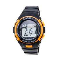 Wholesale Large Face Analogue Childrens Digital Watches Mens Sport Watches Black from china suppliers