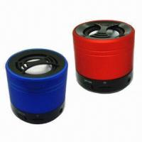 Wholesale Mini USB Bluetooth Speaker with Music Player and FM Radio Functions from china suppliers