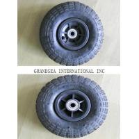 "Quality Plastic Rim Pneumatic Rubber Wheel (PR1800-1(10""*3.50-4)TYRE TIRE TUBE for sale"