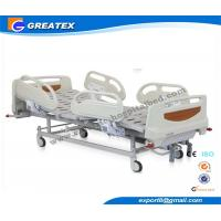 Wholesale Linak Adjustable Hospital Beds For ICU Room Aluminum Alloy Handrails from china suppliers