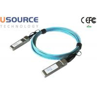 Wholesale 100G QSFP28 to QSFP28 AOC Active 10M length QSFP+AOC Fiber Optical Cable 100GBASE-LR4 from china suppliers