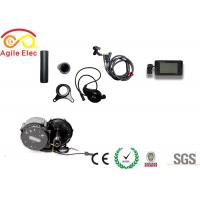 Quality Portable Electric Bike Crank Motor Kit , Electric Mid Drive Bike Kit With LCD Display for sale