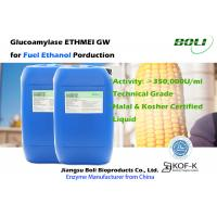 Buy cheap Liquid Glucoamylase ETHMEI GW For Fuel Ethanol Processing With Halal And Kosher from wholesalers