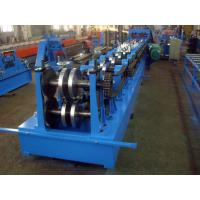 1.0mm Galvanized Coils Stud And Track Roll Forming Equipment 22mm Width PLC Control