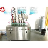 Wholesale Automatic BOV Bag On Valve Aerosol Filling Machine For Shaving Foam Spray Shaving Gel from china suppliers