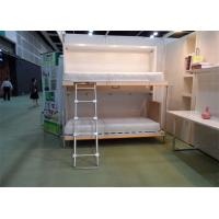 Wholesale Horizotal Hidden Murphy Wall Bed Double Deckers Single Foldable Bed For Children from china suppliers