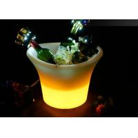 Wholesale Plastic PE Led Ice Buckets / Illuminated Ice Bucket With Rechargeable Battery from china suppliers