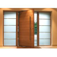 Wholesale Solid Wood Modern Pivot Front Doors from china suppliers