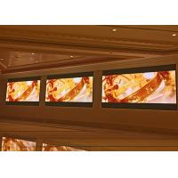 Quality P4 Indoor LED Displays For Subway Corridor , LED Advertising Display Screens for sale