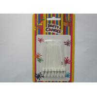 Wholesale White Flameless Spiral Birthday Candles White Cake Decoration With Holders from china suppliers