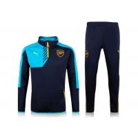 Wholesale Arsenal Blue Black Football Team Tracksuits PUMA Polyester For Mens from china suppliers