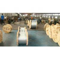 Wholesale ACSR Use Galvanized Steel Cable Wire Rope 1.0-4.8mm Gauge With Adhesive And Flexible from china suppliers