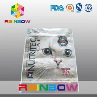 Wholesale Ziplock Packaging Bag / Customized Printed Pet Food Pouch Three Side Seal from china suppliers