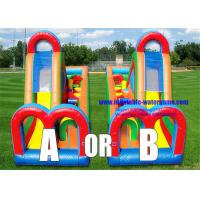 Wholesale Turbo Rush Jumper Obstacle Course Bounce House EN14960 SGS Certification from china suppliers