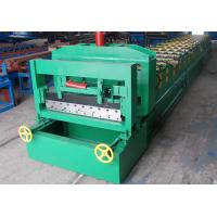 Wholesale 9 m/min Glazed Tile Roll Forming Machine H sheet For roof tile from china suppliers