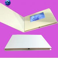 Wholesale 4.3 Inch Lcd Video Brochure With Video Screen , Hard Cover Video Greeting Card from china suppliers