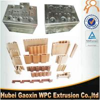 China High speed WPC extrusion mold made in China for Wood Plastic composite door frame on sale