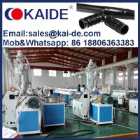 Quality China KAIDE inline cylinder drip irrigation pipe making machine production extrusion plant equipment with low price for sale