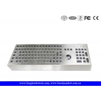 Wholesale Machine Industrial Keyboard With Trackball Desktop Stainless Steel Keyboard from china suppliers