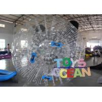 Wholesale Bubble 1.00mm PVC Inflatable Colorful Grass Zorb Ball For Inflatable Sport Game from china suppliers