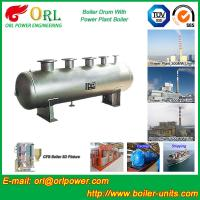 Wholesale 1000 Ton gas fire steam boiler mud drum TUV from china suppliers
