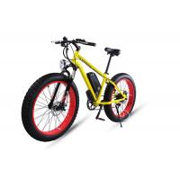 Wholesale 1000w Felt Motor Electric Fat Bike 30-45km/H With 26x4.0 Fat Tire from china suppliers