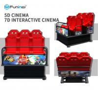 Wholesale Motion Chair 5D 6D 7D 9D Cinema Kino Equipment For Amusement Park from china suppliers